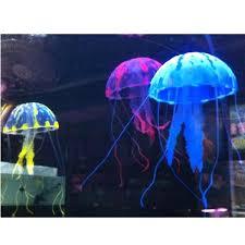 glowing effect artificial jellyfish for aquarium fish tank