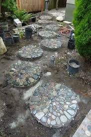 Haus Und Garten Ideen Die Besten 25 Trittsteine Garten Ideen Auf Pinterest