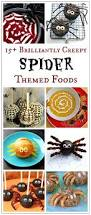 halloween theme foods 15 awesome spider themed foods for halloween eats amazing