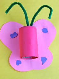 play butterflies and binoculars more paper roll ideas the