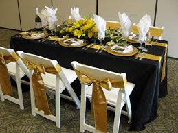banquet tables and chairs how to choose the right table linen size for your wedding or event