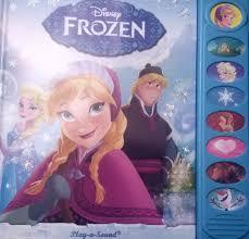 disney u0027s frozen play u0026 sound book