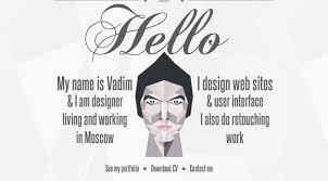 Online Resume Portfolio by Madebyvadim Single Page Web Designer Portfolio 25 Beautiful