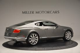 bentley continental 2016 2016 bentley continental gt w12 stock 6997 for sale near
