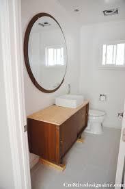 Mid Century Modern Bathroom Vanity Mid Century Modern Bathroom Small Office Interior Design Mirror