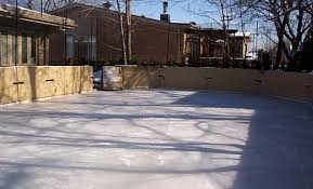 Backyard Rink Ideas Backyard Rinks