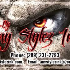 any stylez ink closed tattoo 1125 king street e hamilton