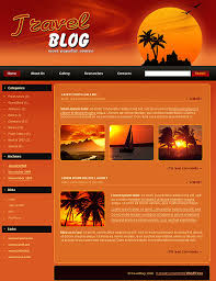 travel blog wordpress theme 409 at website templates bz