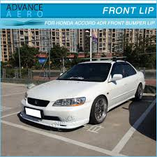 2001 honda accord front bumper for 98 02 honda accord 4dr mugen style urethane front bumper lip