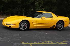2001 z06 corvette for sale 2001 millennium yellow corvette z06 634 units my corvette