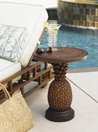alfresco living pineapple table lexington home brands