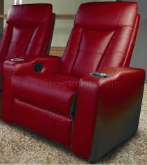 home theater recliner leatherette home theater recliners w adjustable headrests