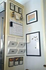 Kitchen Wall Organization Ideas Kitchen Room Fabulous Rustic Chalkboard Organizer Kitchen Wall