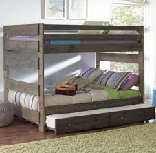 Bunk Bed With Pull Out Bed Wrangle Hill Bunk Bed With Pull Out Trundle