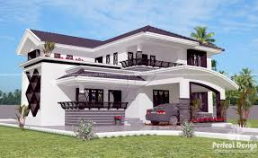 modern 4 bedroom home design u2013 kerala home design