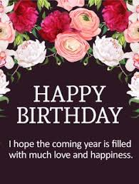 marvelous flower birthday card birthdays are the time to