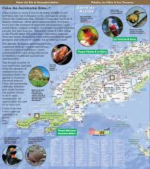 Cuban Map Naturesmart Cuba Map By Vandam Country Road U0026 Eco Travel Map Of