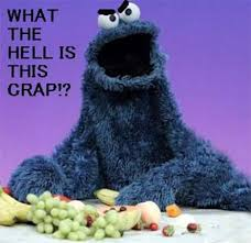 Nom Nom Nom Meme - sesame street s cookie monster interview w ella reveals the om