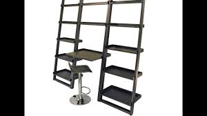 black ladder shelf youtube