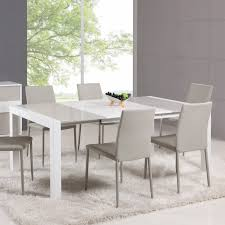 chintaly gina 5 piece extendable dining table set hayneedle
