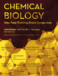 chemical biology interface training grant symposium may 24