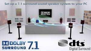 7 1 home theater system how to connect 7 1 surround sound home theater to your pc youtube