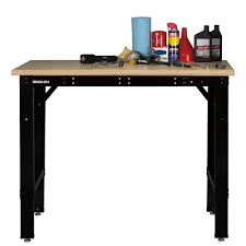 Garage Length Stack On Adjustable Height And Length Workbench Sop Awb 6 Garage