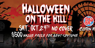 halloween on the hill in niagara falls clifton hill niagara
