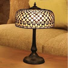Tiffany Floor Lamp Shades Zutano Bedside Dome Scandinavian Inen Fabric Rustic Lamp Shades