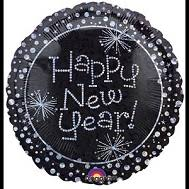 happy new year balloon bargain balloons new years mylar balloons and foil balloons