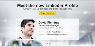 linkedin ca linkedin new profile design unveiled