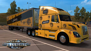 golden trucks american truck simulator sunday test drive volvo vnl670