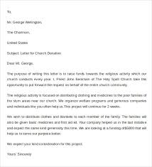 sample donation letter format 9 free documents download in word