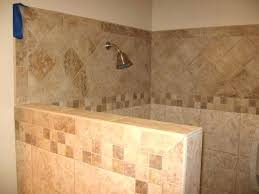 Showers Without Glass Doors Walk In Showers Without Door Walk In Showers Without Doors Tile 4