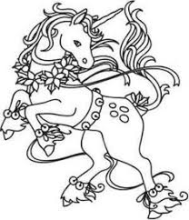 unicorn fairy coloring pages icolor