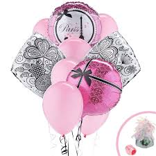 Eiffel Tower Party Decorations Amazon Com Paris Eiffel Tower Damask Party Supplies Balloon