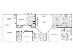 Eagle Homes Floor Plans by Quality Mobile Homes Inc Eagle Trace Ii 32764n Fleetwood Homes