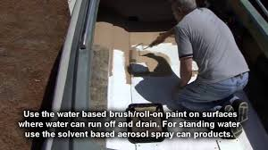 non skid paint for boats rvs u0026 more youtube