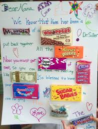 get well soon gift ideas get well soon candy card gift giving candy cards