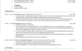 data scientist resume re scientist resume sles resume awesome to do computer science