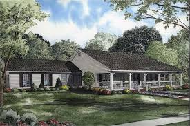 Southern Farmhouse Home Plan Impressive 3 Bedrm 1800 Sq Ft Country House Plan 153 1744