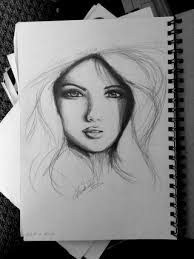 i tried sketching a human face realistically for the first time
