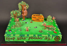retirement cake for a deer hunter cakecentral com