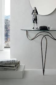 glass and metal console table target point contemporary nilo glass and metal console table opt