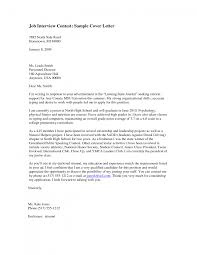 cover letter cover letter interview after interview cover letter