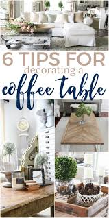 coffee table decor 6 tips for how to decorate a coffee table the turquoise home