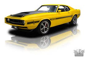 Mustang Yellow And Black For Sale Yellow 1970 Ford Mustang Boss Snake Blood