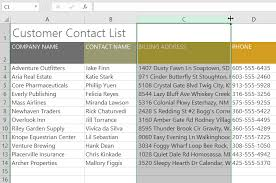 excel 2016 modifying columns rows and cells full page