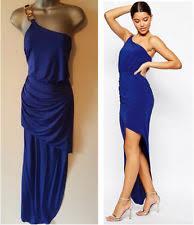 lipsy one shoulder sleeveless maxi dresses for women ebay