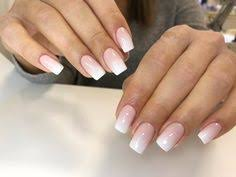 wedding ombré nails pink and white nails pinterest wedding